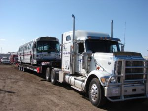 Double L Towing Heavy Equipment Hauling Truck